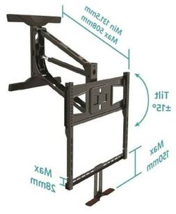 Monoprice 115618 Above Fireplace Pulldown Tv Mount