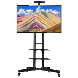 """32-65"""" Universal Flat Screen TV Carts Stand Mobile TV Cons"""