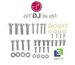Full set of LG TV Mounting Bolts/Screws and Washers - Fits a