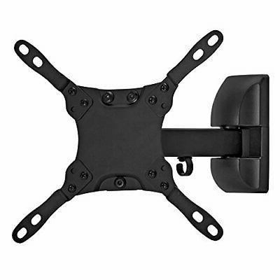 Cmple - Solid Full-motion Wall Mount Bracket for 13-42 inch