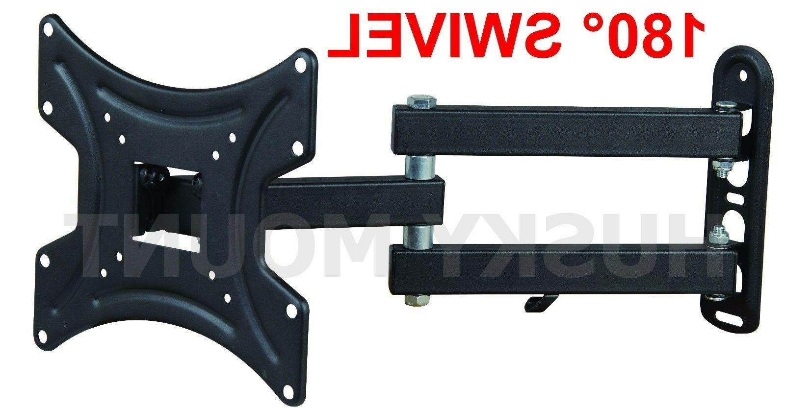 Full Motion Wall Mount Articulating 24 32 37 LED