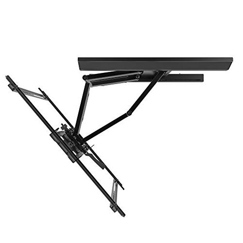 """Kanto - Tv Wall Mount For Most 37"""" - Extends 22"""" - Black"""