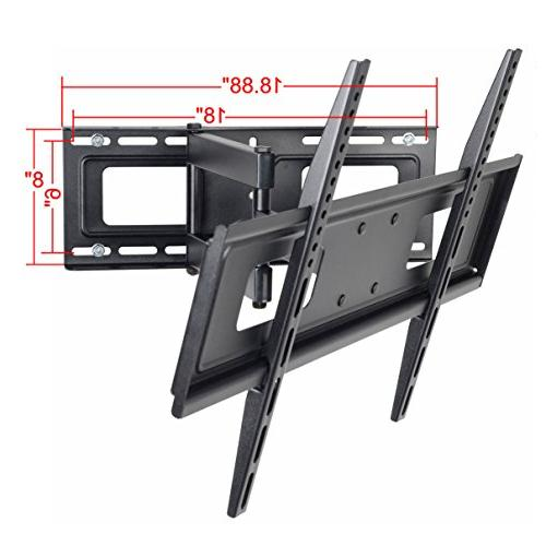 """VideoSecu Articulating Wall for 32"""" 37"""" 39"""" 42"""" 46"""" 52"""" 55"""" 58"""" 62"""" 65"""" LED Plasma Panel TV from 200x100 MW365BBM7 BM7"""
