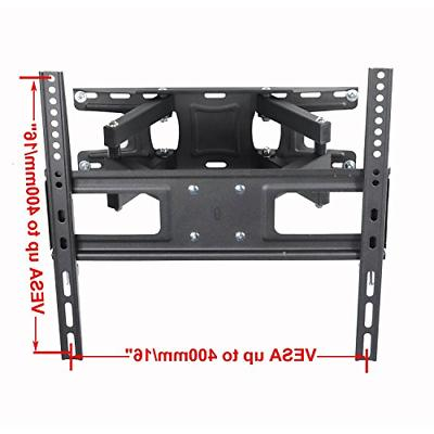 VideoSecu MW340B2 Wall Mount for 32-65 Inch LED, OLED