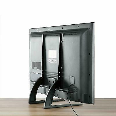 """Universal Tabletop TV Base Mount for 65"""" Height Adjustable 110LBS"""