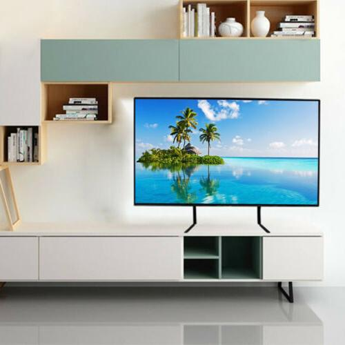 Universal TV Stand Tabletop Mount LED Screen
