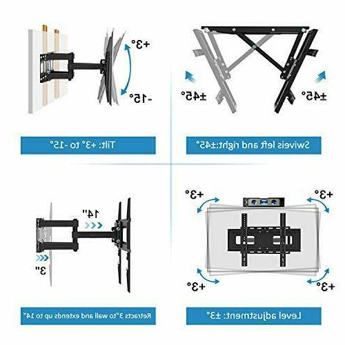 Upgraded Motion Wall Mount Bracket for 32-65 Inch