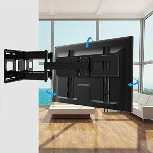 Upgraded Full Motion TV Wall Mount 32-65