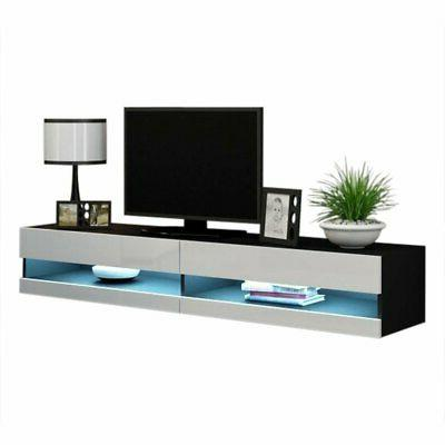 """Vigo Wall Mounted Floating 71"""" TV Stand with 16"""