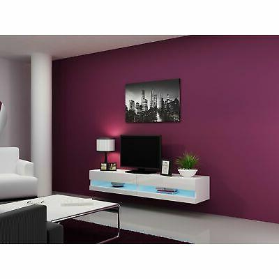 """Floating 71"""" TV with Color"""
