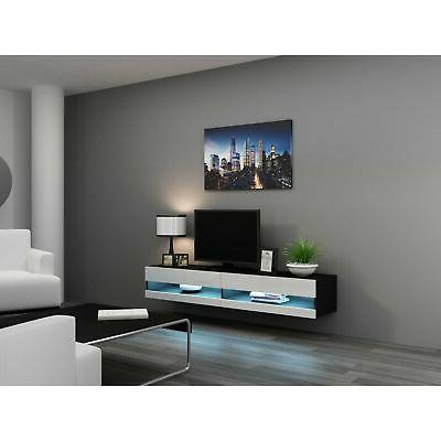 Vigo Wall Mounted Floating with Color