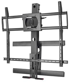 Mount-It! Fireplace TV Mount | Pull Down | Fits 50-100 Inch