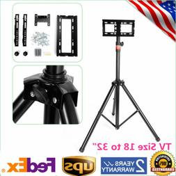 tripod tv stand television lcd flat panel