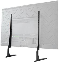 VIVO Universal LCD Flat Screen TV Table Top Stand | Base fit